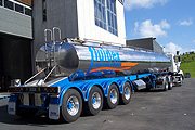Food Grade Tankers - Bulk Liquid Transportation Services with Fluidex