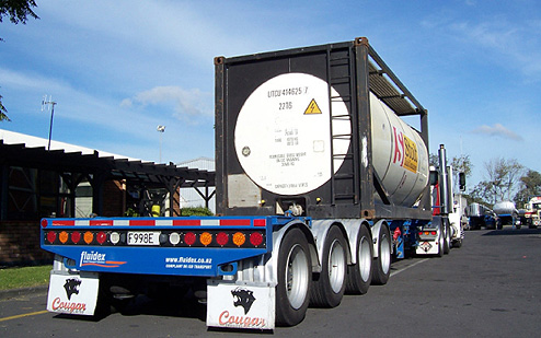 Skeletal Trailers - Up to 30 tonne at Fluidex Transport NZ