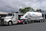 Pneumatic Tankers - Bulk Transportation Services at Fluidex