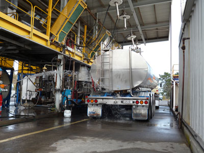 ISO tank washing Plant - Fluidex